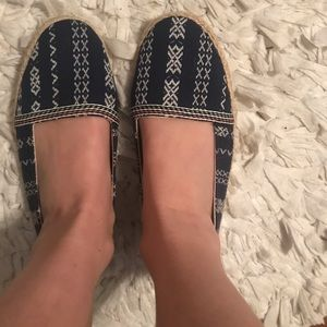American Eagle Slip Ons with Aztec Design